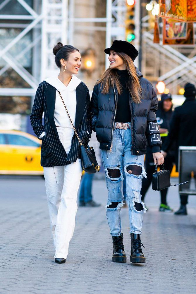 Madison Reed and Victoria Justice together