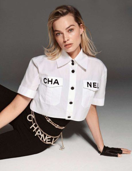 Margot Robbie, chanel style for Elle France