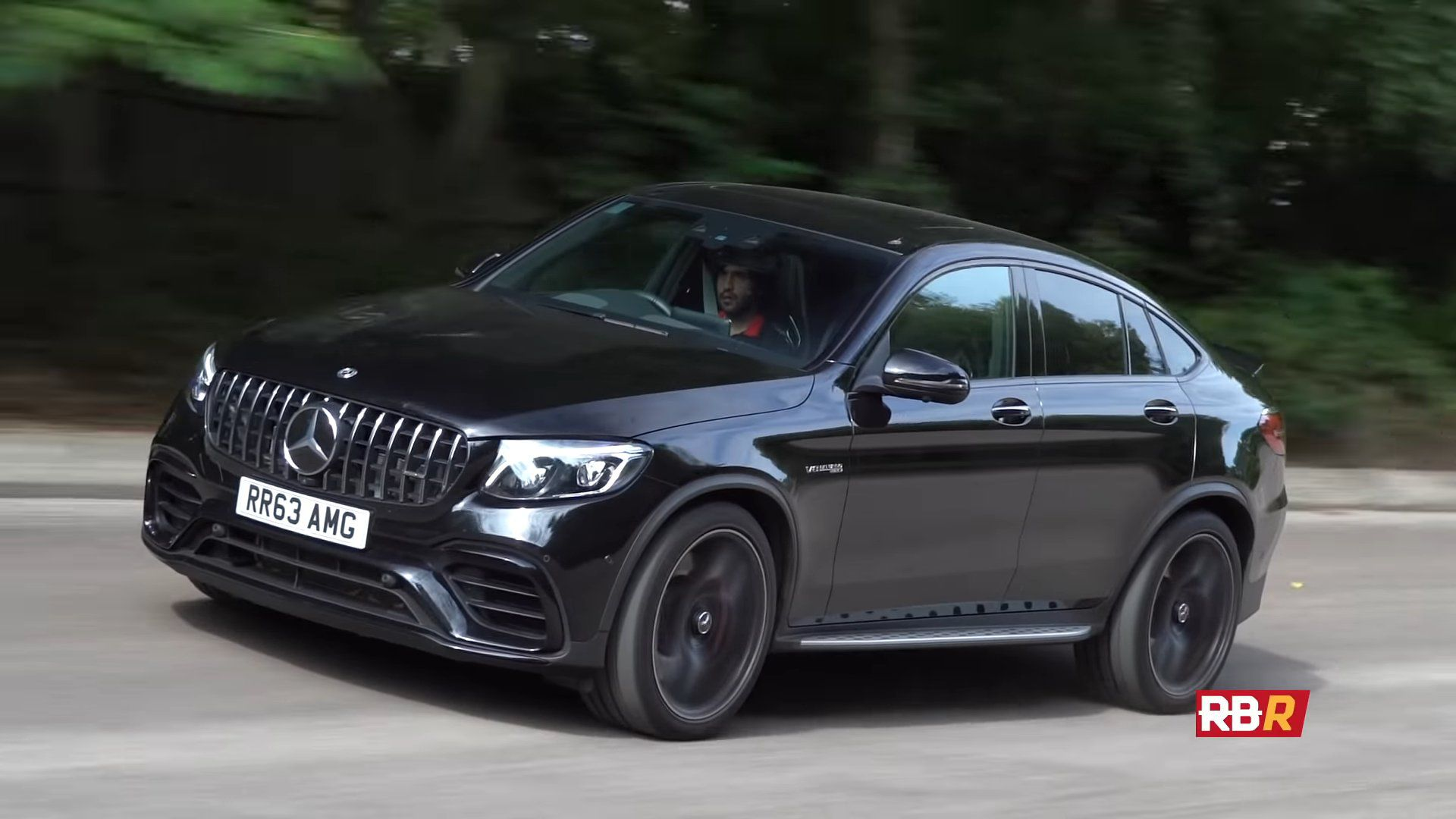Mercedes-AMG GLC 63 S Coupe 2018 model