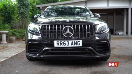 Mercedes-AMG GLC 63 S Coupe - Front view