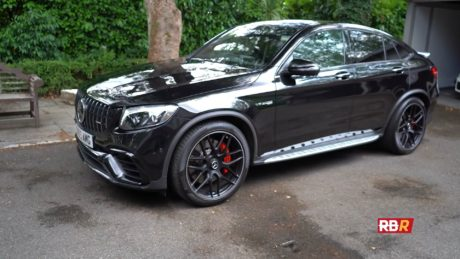 Mercedes-AMG GLC 63 S Coupe - in black colour