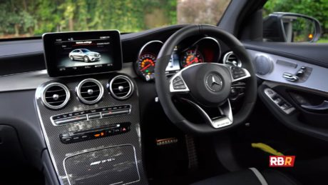 Mercedes-AMG GLC 63 S Coupe - interior