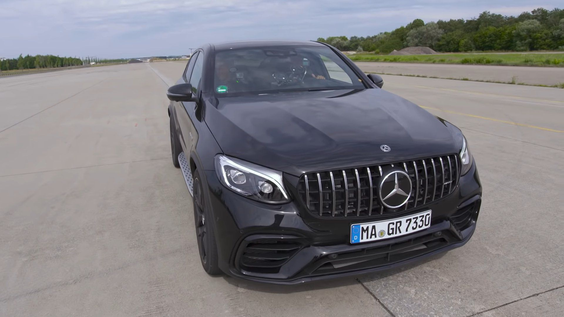 Mercedes-AMG GLC 63 S - in black colour