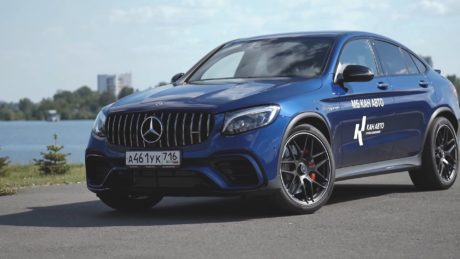 Mercedes-AMG GLC 63 - blue colour