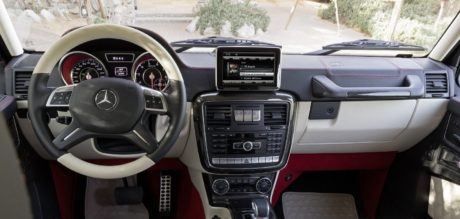 Mercedes-Benz G63 AMG 6x6 2013 interior design inside