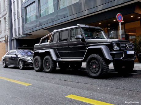 Mercedes-Benz G63 AMG 6x6 in Geneva 2013