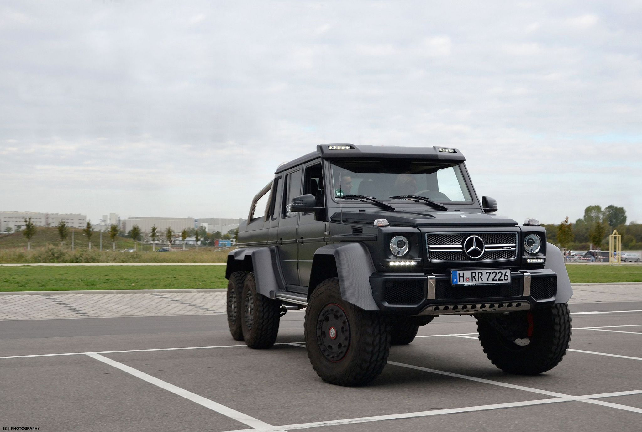 Mercedes-Benz G63 AMG 6x6 - military version