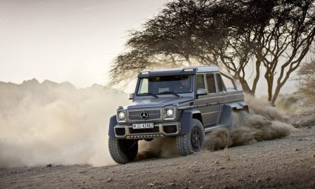 Mercedes-Benz G63 AMG 6x6 offroad wallpapers