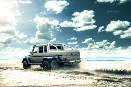 Mercedes-Benz G63 AMG 6x6 - sky, clouds