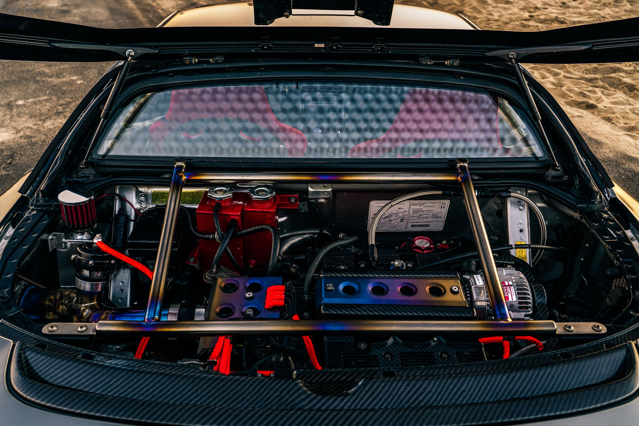 NSX - engine with protect