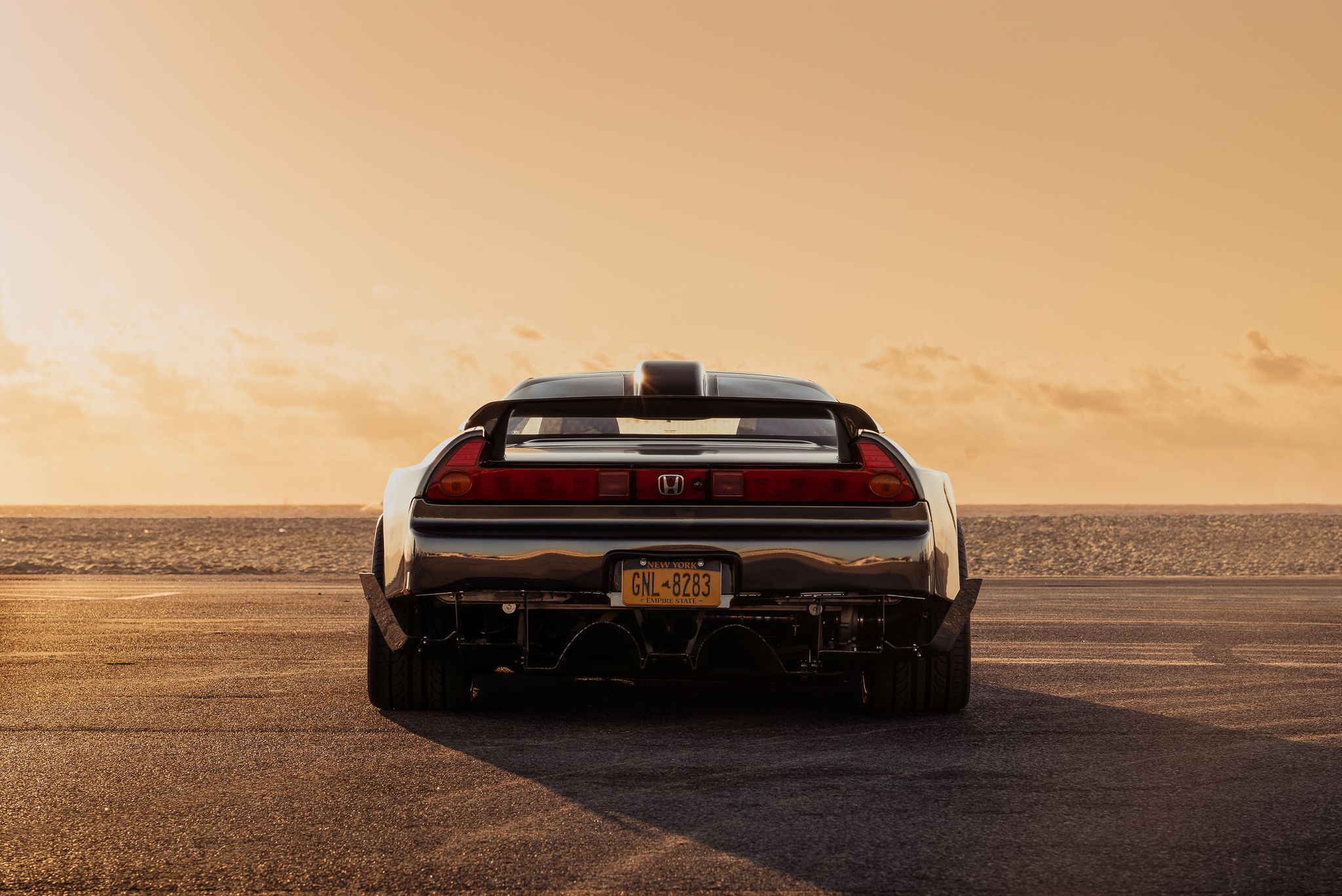 NSX - rear view & taillights