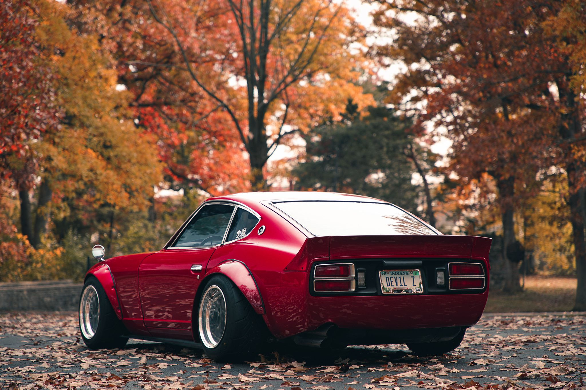 Nissan Datsun 280Z, rear-side, high quality wallpapers