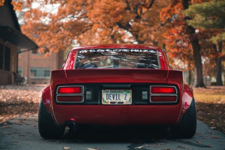 Nissan Datsun 280Z, rear view, hd wallpapers