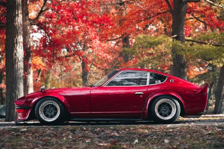 Nissan Datsun 280Z, wide body kit, computer wallpaper