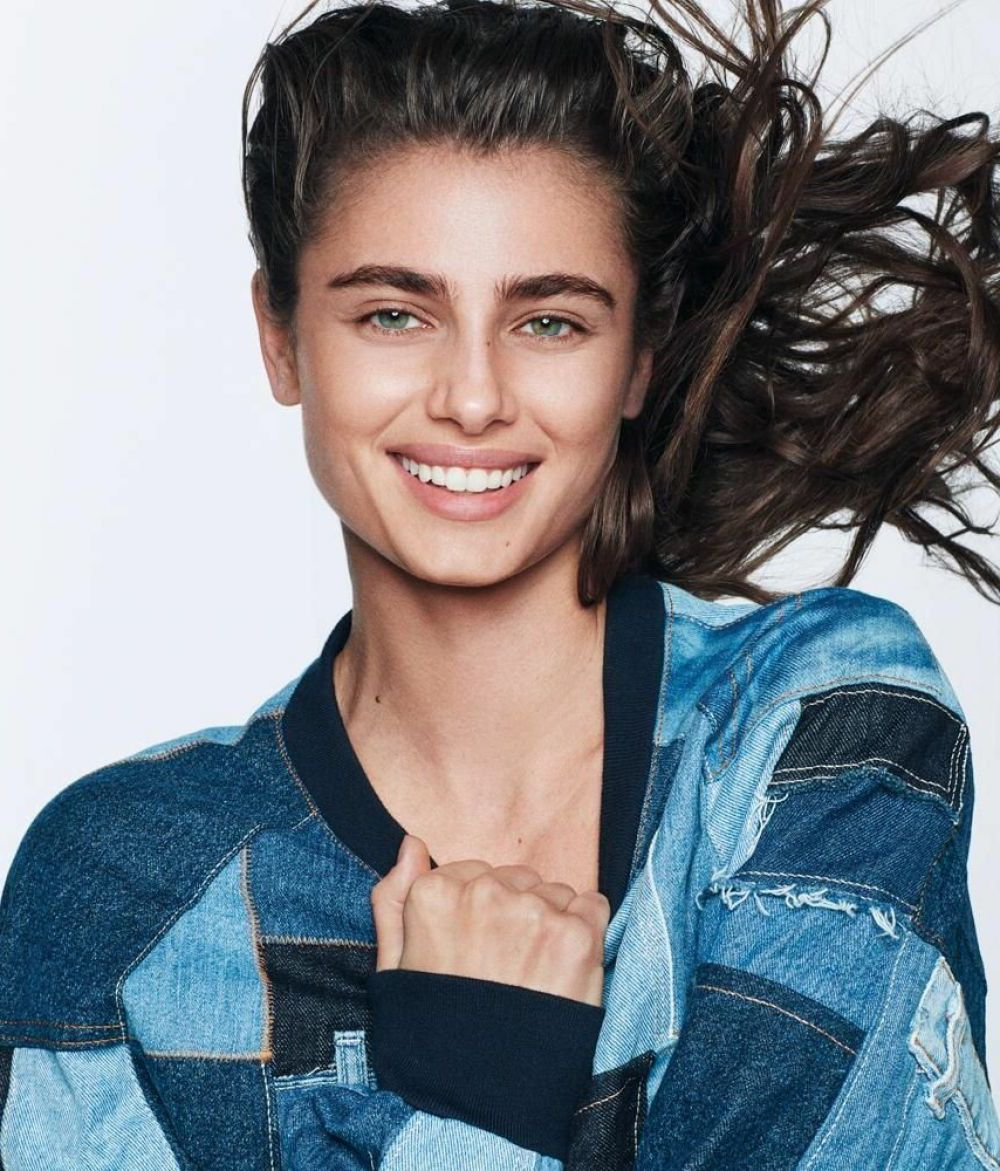 Taylor Hill smiles for WSJ Magazine