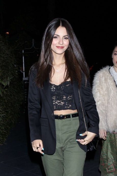 Victoria Justice at the ROKU Sunset, 2019