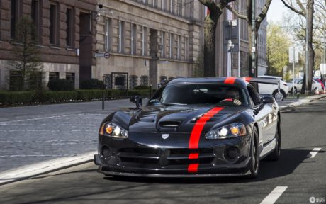 black Viper with red stripe