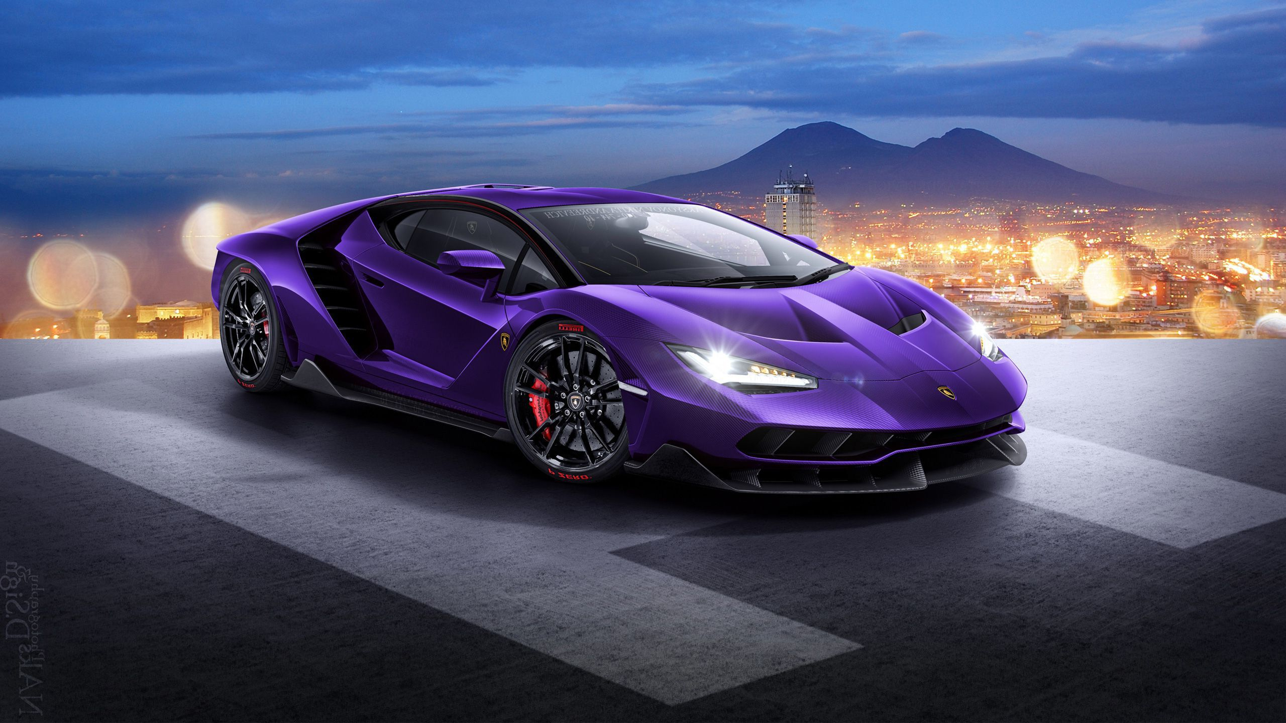 Blue 2018 Lamborghini Centenario Lp 770 4 Motion Full Hd