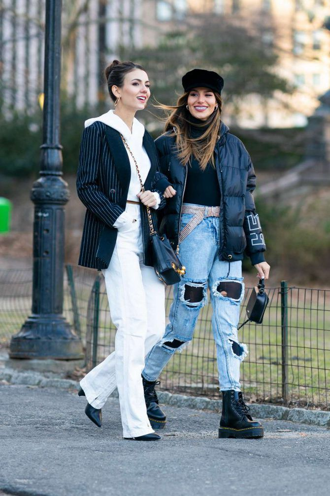 celebrities - Madison Reed and Victoria Justice