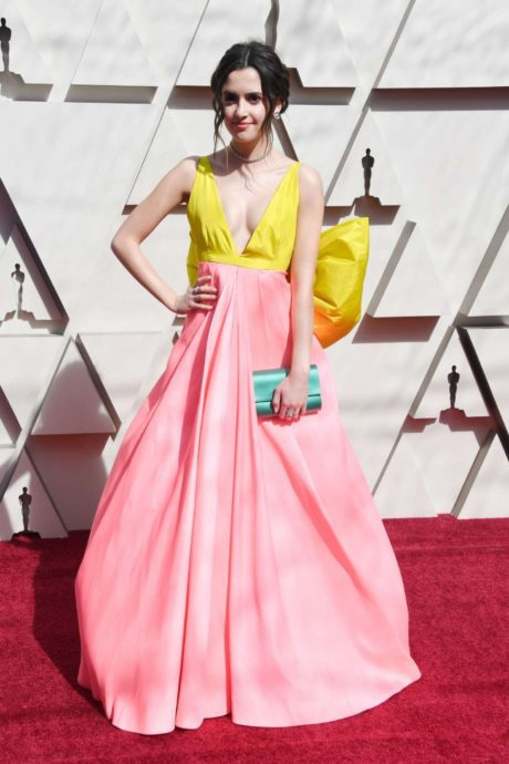 charming actress Laura Marano at the Oscars in Los Angeles, 2019