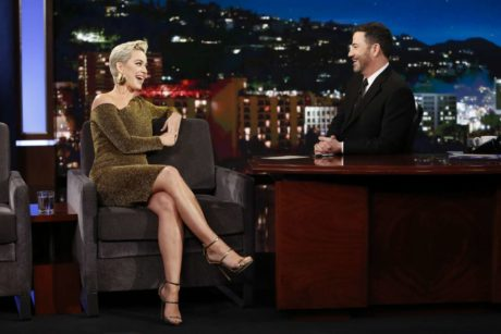 funny Katy Perry at the 'Jimmy Kimmel Live' in Los Angeles, 2019