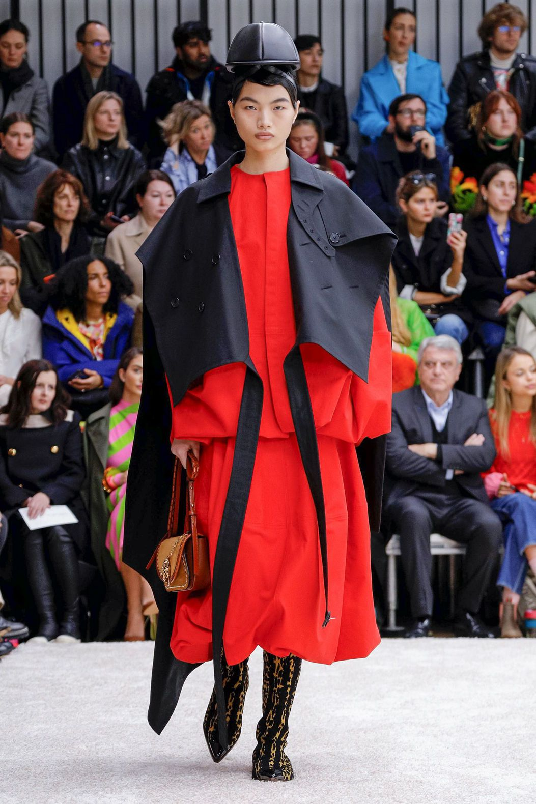 red black dress by JW Anderson