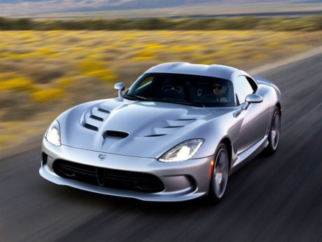 silver Viper at speed