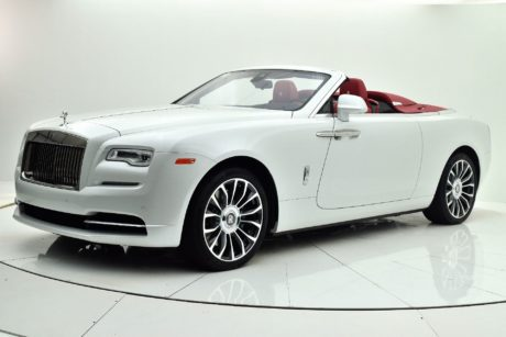 white 2019 Rolls Royce Dawn