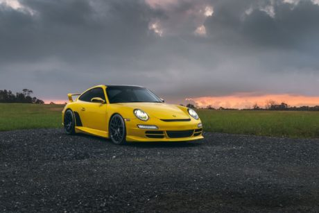 I think this is a great view for this sports car – Porsche 911 (997)