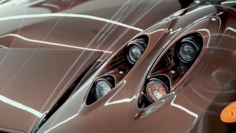 photo 02: Pagani Huayra Hermes headlights