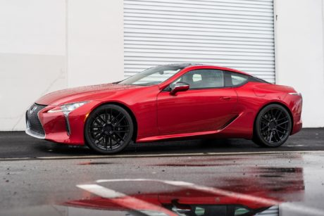 2019 Lexus LC 500 – Red Sports Car, (Body Style – Coupe)