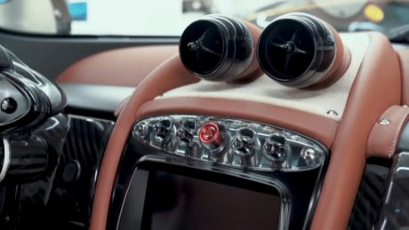 photo 03: Pagani Huayra Hermes interior