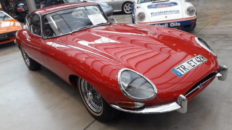 1964 Jaguar E-Type 3.8 Coupe - front view
