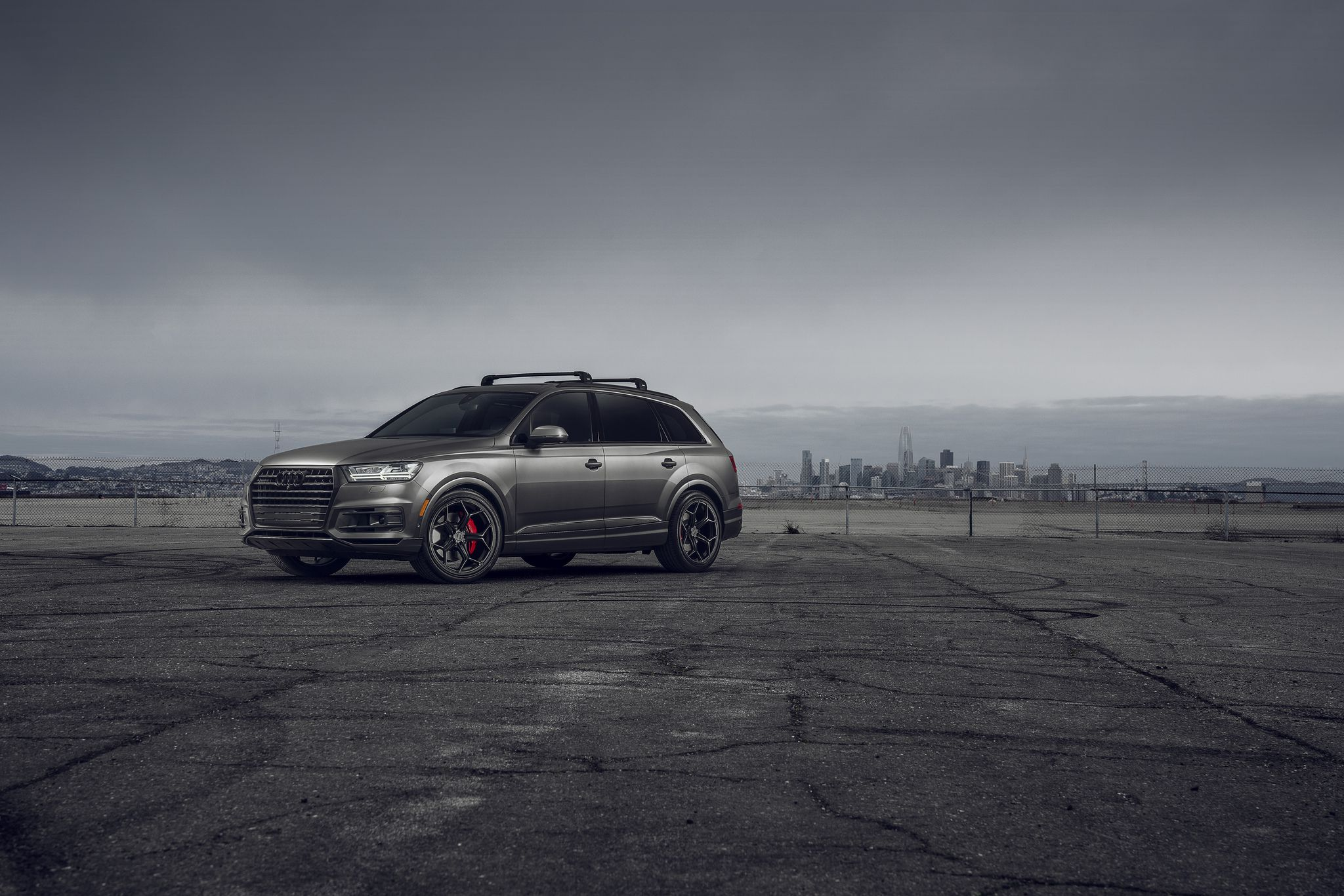 2019 Audi Q7 - absolutely new Audi's design