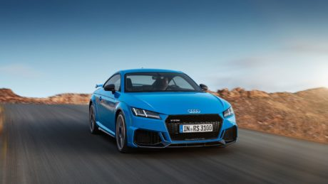 2019 Audi TT RS Coupé - on road, at speed