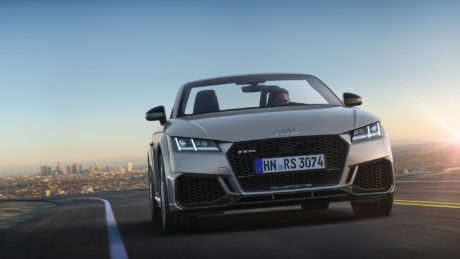 2019 Audi TT RS Roadster Quattro – Exclusive Grey Sports Car for Traveling