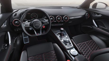 2019 Audi TT RS Roadster interior