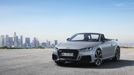 2019 Audi TT RS Roadster - stunning gray colour