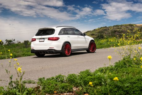 2019 Mercedes AMG GLC 63 - at wild nature