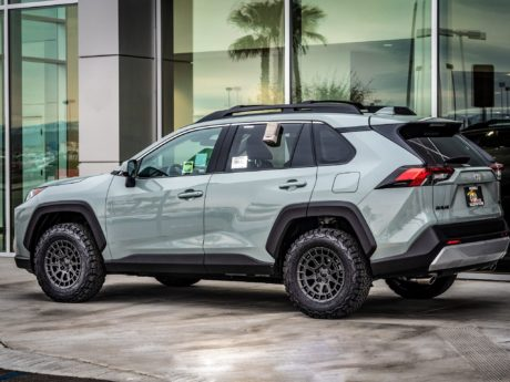 2019 Toyota RAV4 - side view