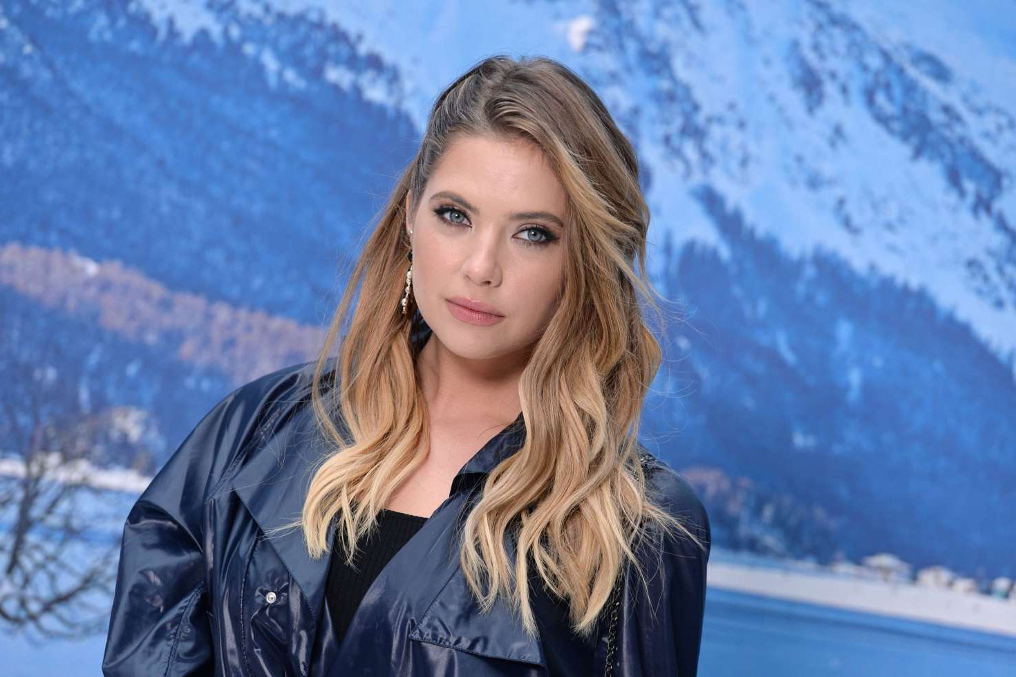 Ashley Benson, actress at the Chanel Fashion Show, 2019