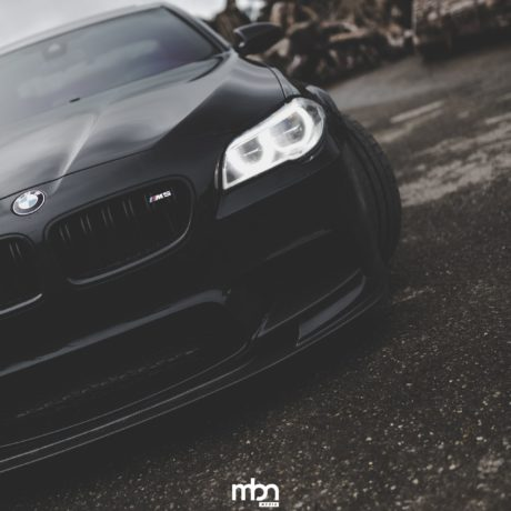 BMW F10, angel eyes
