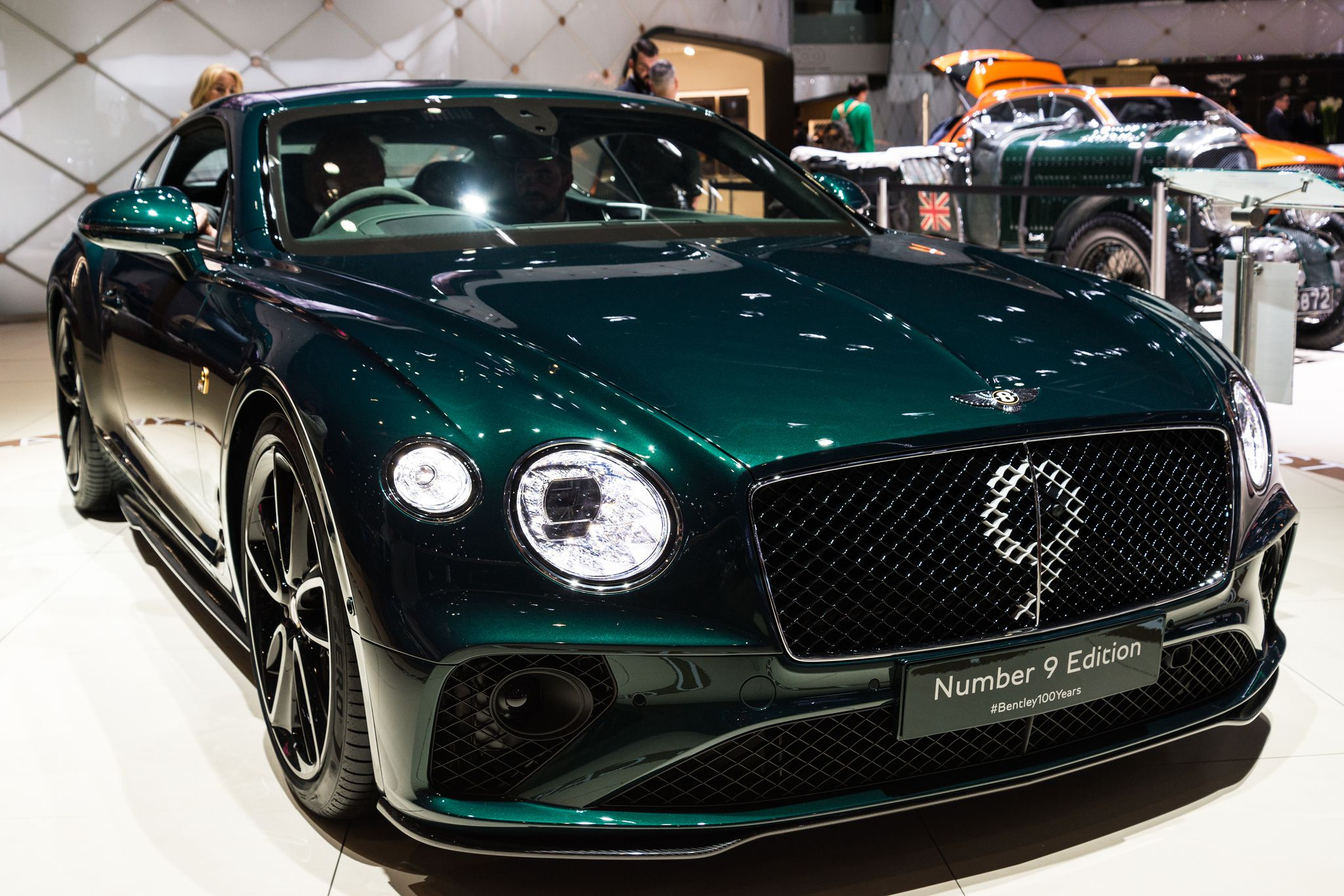 Bentley Number 9 Edition - first look, Geneva 2019