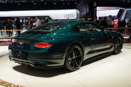 Bentley Number 9 Edition - side view, Geneva 2019