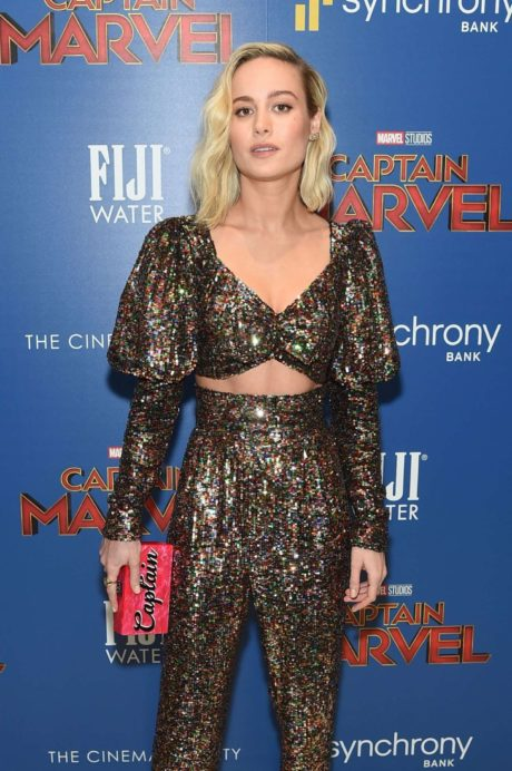 Brie Larson at the 'Captain Marvel' Premiere, 2019