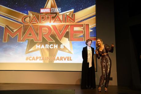 Brie Larson at the Marvel Studios 'Captain Marvel' Premiere, 2019