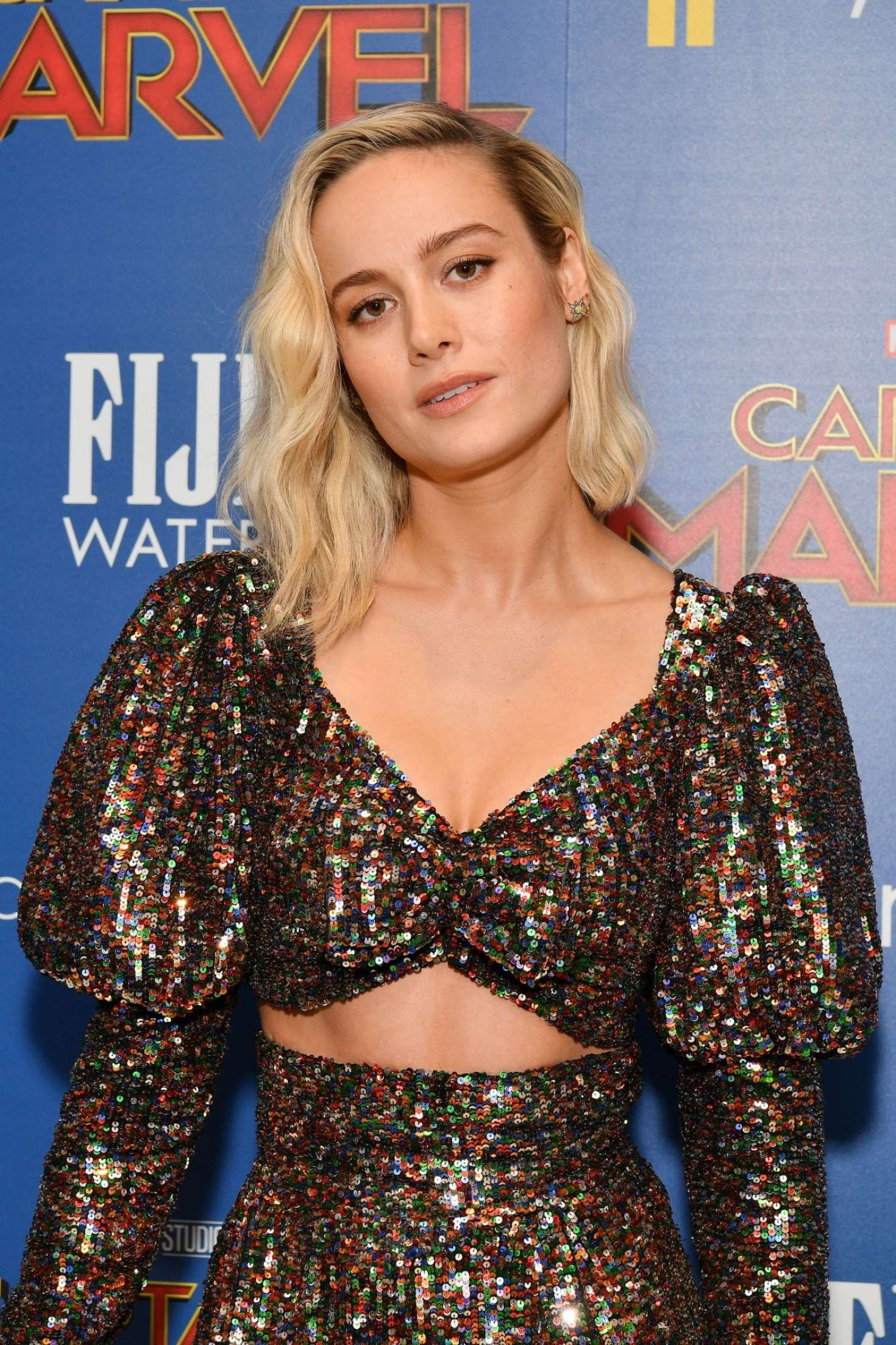 Brie Larson in new outfit at the 'Captain Marvel' Premiere, 2019