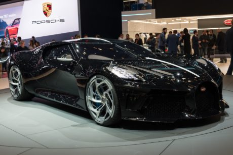 Bugatti La Voiture Noire – Unreal Design for the Exotic Car – Geneva 2019