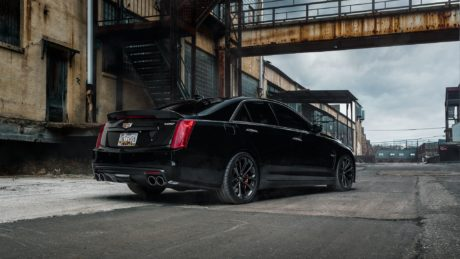 Cadillac CTS-V, black colour