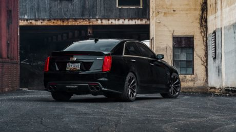 Cadillac CTS-V, rear view
